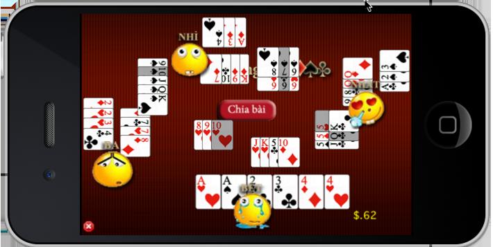 Game đánh bài